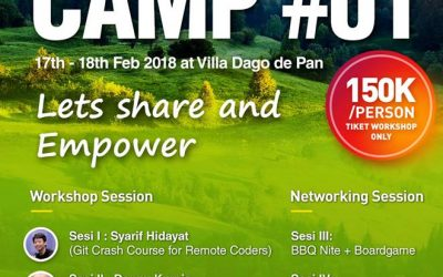 Upgrade Camp for Freelancer & Remote Worker #01 – 17-18th Februari 2018